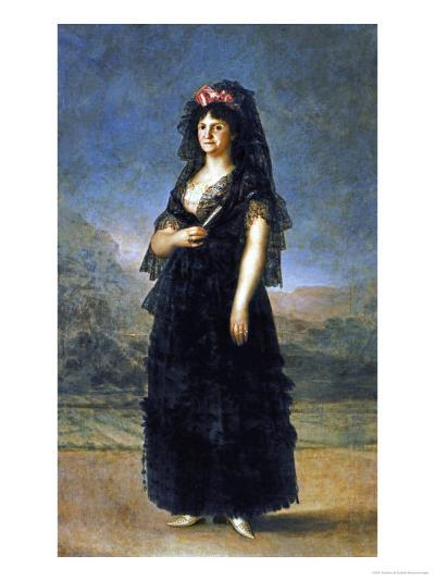 Queen Maria Luisa-Francisco de Goya-Giclee Print