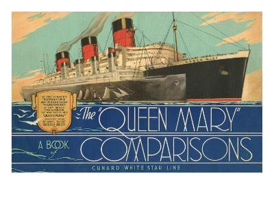 Queen Mary Book of Comparisons--Art Print