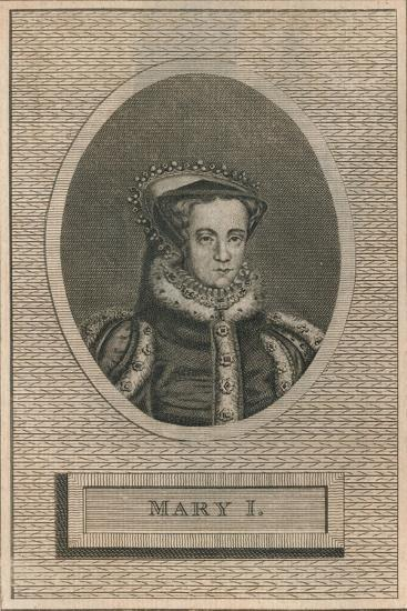 Queen Mary I, 1793-Unknown-Giclee Print