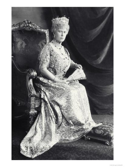 Queen Mary-James Lafayette-Giclee Print