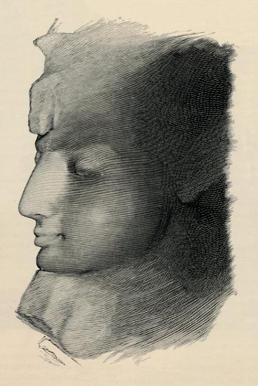 'Queen Nefertari', 1886-Unknown-Giclee Print