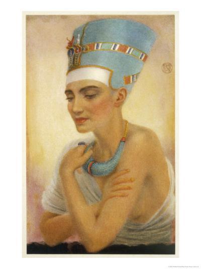 Queen Nefertiti-Winifred Brunton-Giclee Print