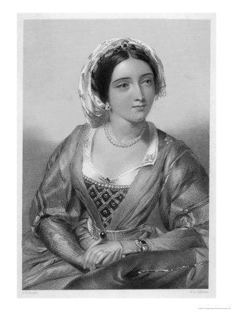 Queen of Edward I Daughter of Ferdinand III of Castile and Joan of Ponthieu-W.h. Egleton-Premium Giclee Print
