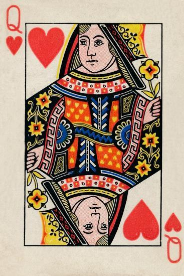 Queen of Hearts, 1925-Unknown-Giclee Print