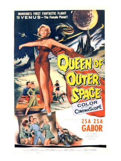 Queen of Outer Space, Zsa Zsa Gabor, 1958--Photo