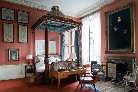 Queen of Scots Bedroom, Chatsworth House, Derbyshire--Photographic Print