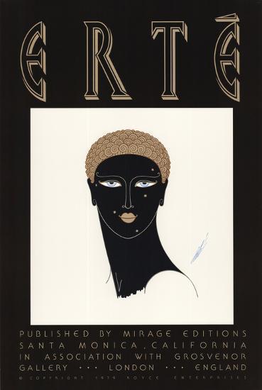 Queen of Sheba-Erte-Collectable Print