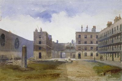 Queen's Bench Prison, Borough High Street, Southwark, London, 1879-John Crowther-Giclee Print