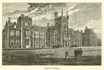 Queen's College--Giclee Print