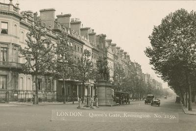 Queen's Gate, Kensington, London--Photographic Print
