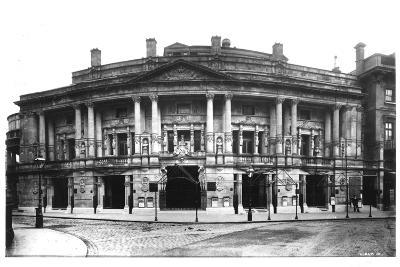 Queen's Hall in Langham Place, London, 1896--Photographic Print