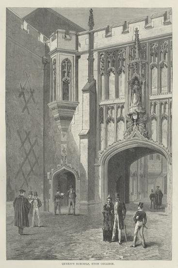 Queen's Schools, Eton College--Giclee Print