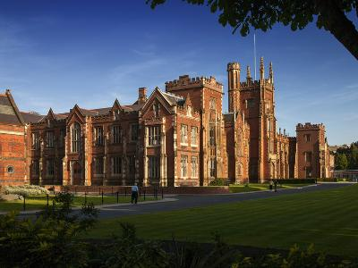 Queen's University, Belfast, Northern Ireland-Chris Hill-Photographic Print