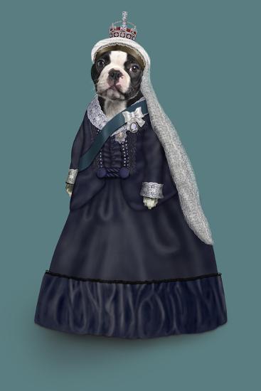 Queen Vic (Pets Rock)-Takkoda-Art Print