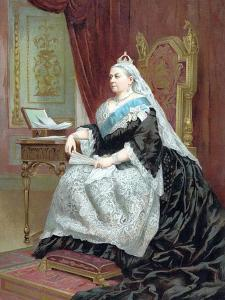 Queen Victoria (1819-190) at the Time of Her Golden Jubilee, 1887