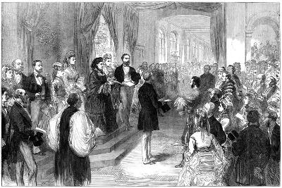 Queen Victoria (1819-190) Opening St Thomas' Hospital, London, 1871--Giclee Print