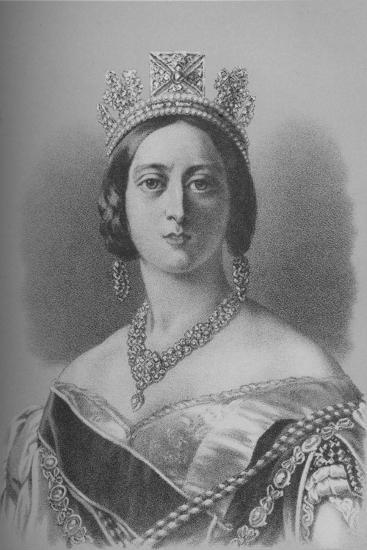 Queen Victoria, 1843 (1936)-Unknown-Giclee Print
