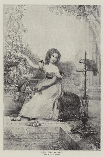 Queen Victoria, Aged Eleven--Giclee Print