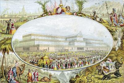 Queen Victoria Arriving to Open the Great Exhibition at the Crystal Palace, London, 1851-Le Blond-Giclee Print