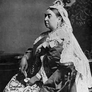 Queen Victoria in Ceremonial Robes at Her Golden Jubilee, 1887
