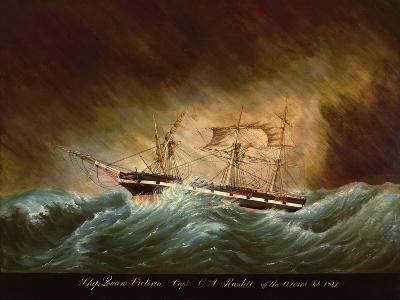 Queen Victoria, Off Azores--Giclee Print