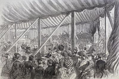 Queen Victoria Opening Blackfriars Bridge, London, 1869--Giclee Print