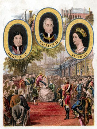 Queen Victoria Opening the Great Exhibition, Crystal Palace, London, May 1851--Giclee Print