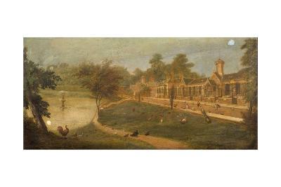 Queen Victoria's Aviary, C.1852-Paul Fischer-Giclee Print
