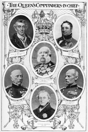 Queen Victoria's Commanders in Chief, 1901--Giclee Print