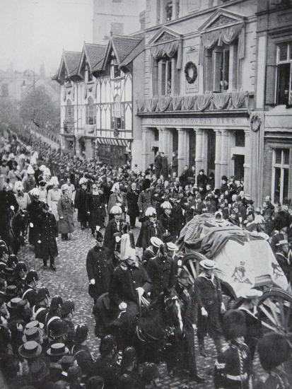Croydon : Bender & Lewis - Queen Victorias funeral