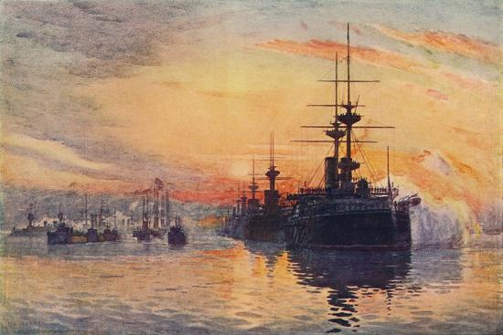 'Queen Victoria's Last Voyage, February 1, 1901', 1906-Unknown-Giclee Print