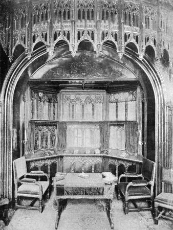 Queen Victoria's Pew in St George's Chapel, Windsor, 1901-Eyre & Spottiswoode-Giclee Print