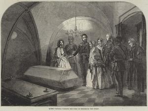 Queen Victoria Visiting the Tomb of Frederick the Great