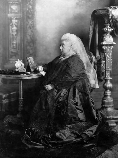 Queen Victoria, Windsor, May 1897--Photographic Print