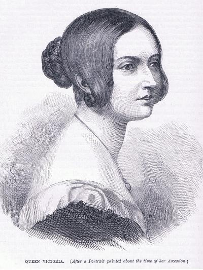 Queen Victoria--Giclee Print
