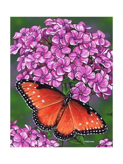 Queen-Marilyn Barkhouse-Art Print
