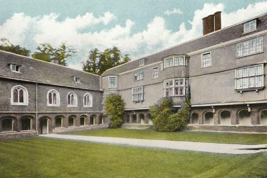 Queens' College, Cloisters Court--Photographic Print