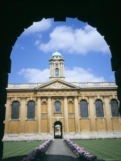 Queens College, Oxford, Oxfordshire, England, United Kingdom-David Hunter-Photographic Print