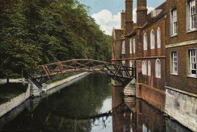 Queens' College, the Bridge--Photographic Print