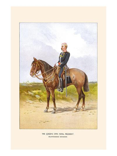 Queens Own Royal Regiment - Staffordshire Yeomanry-Walter Richards-Art Print