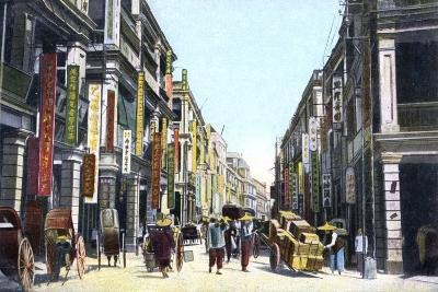 Queens Road Central, Hong Kong, China, C1900s--Giclee Print