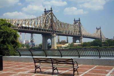 Queensboro Bridge, Sutton Place Park, Manhattan, New York, USA-Peter Bennett-Photographic Print