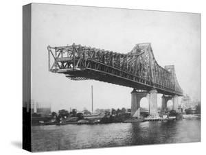 Queensboro Bridge under Construction