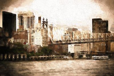 Queensboro Bridge-Philippe Hugonnard-Giclee Print