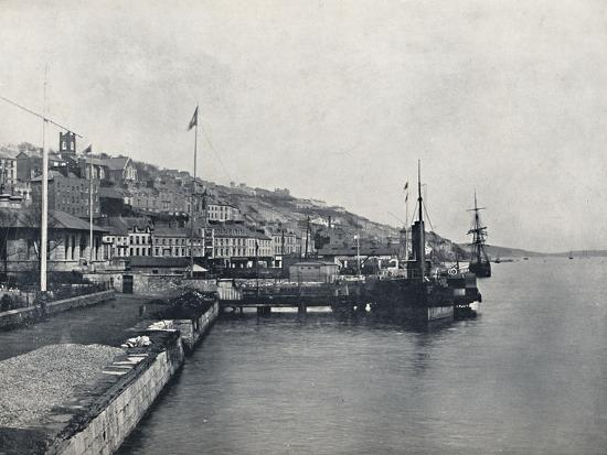 'Queenstown - Looking Along the Shore', 1895-Unknown-Photographic Print