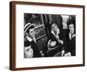 Quelle joie by vivre by Rene Clement with Alain Delon, 1961 (b/w photo)