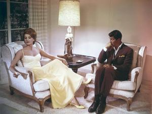 Quelque chose doit craquer SOMETHING'S GOT TO GIVE by GeorgeCukor with Cyd Charisse and Dean Mart 1