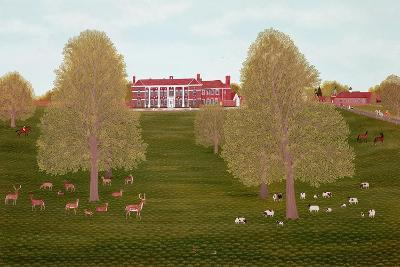 Quendon Park, Essex-Vincent Haddelsey-Giclee Print