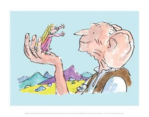 The BFG and Sophie by Quentin Blake