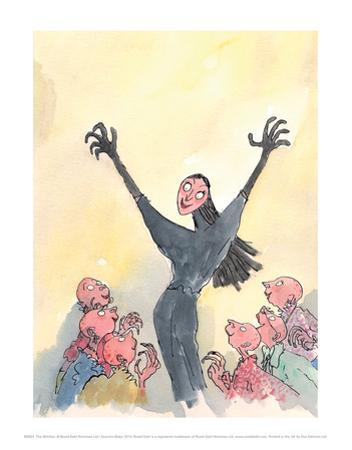 The Witches by Quentin Blake